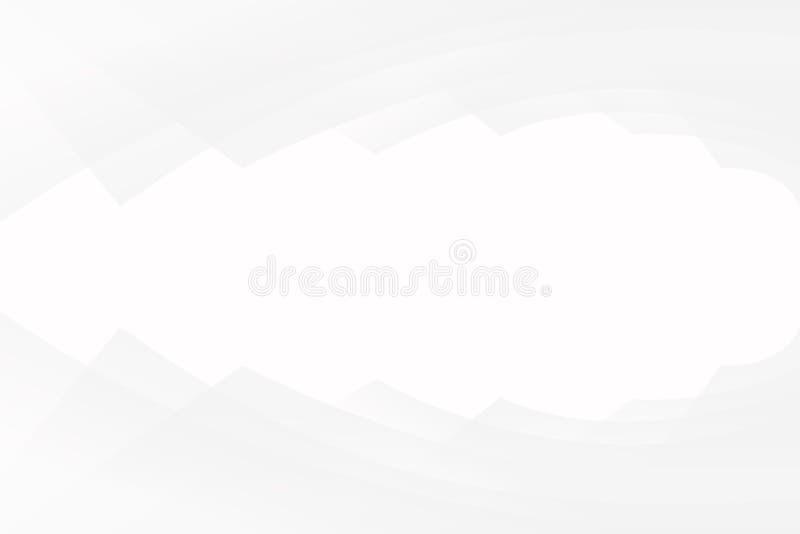 Modelo blanco del diseño abstracto del fondo imágenes de archivo libres de regalías