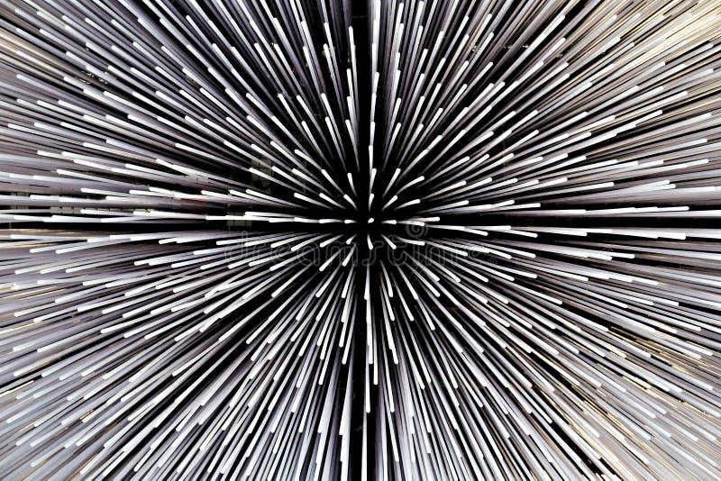 Modelo blanco y negro abstracto fotografía de archivo libre de regalías