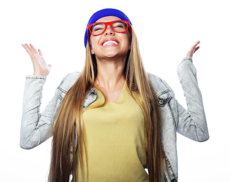 Modelo bonito à moda da jovem mulher imagem de stock royalty free