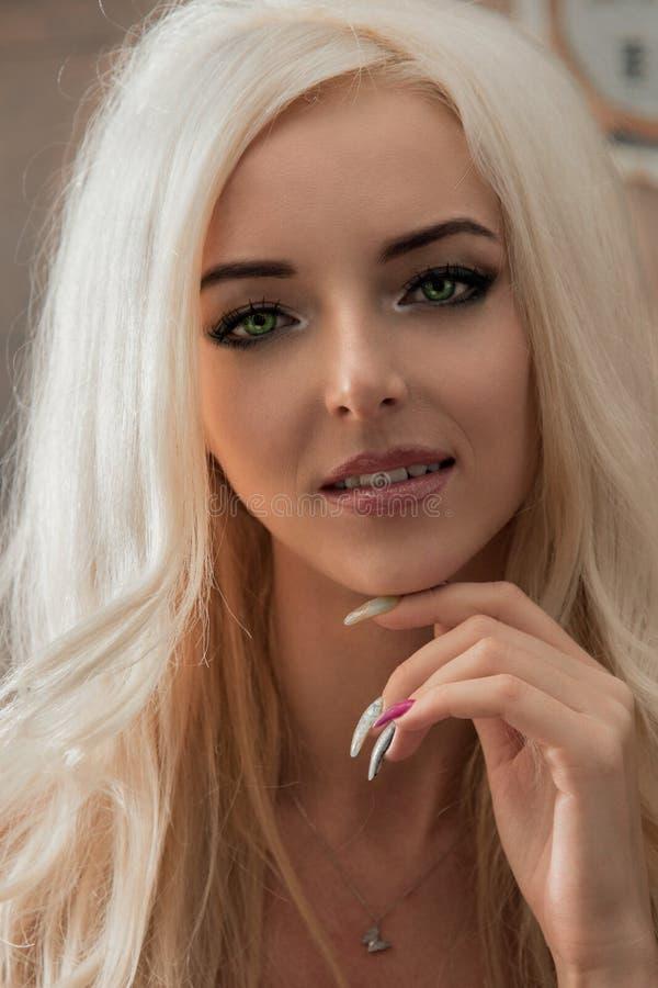 Modelo bonito imagens de stock royalty free