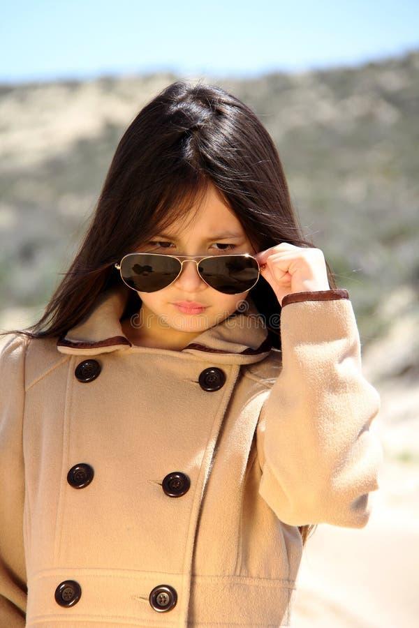 Modelo da menina fotografia de stock