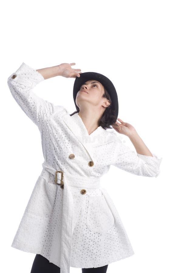 Modelo bonito de Latina foto de stock royalty free