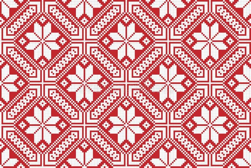 Modelo bordado nacional tradicional libre illustration