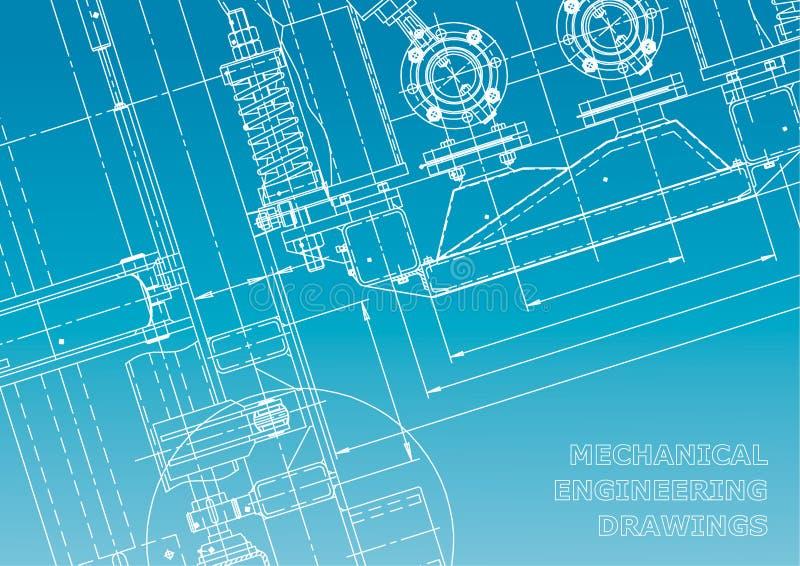 Modelo, bosquejo Ejemplo de la ingeniería del vector libre illustration