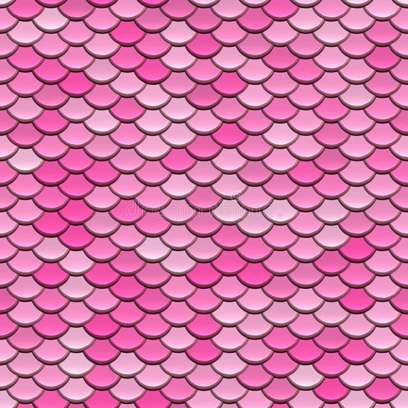 Modelo circular rosado de los azulejos libre illustration