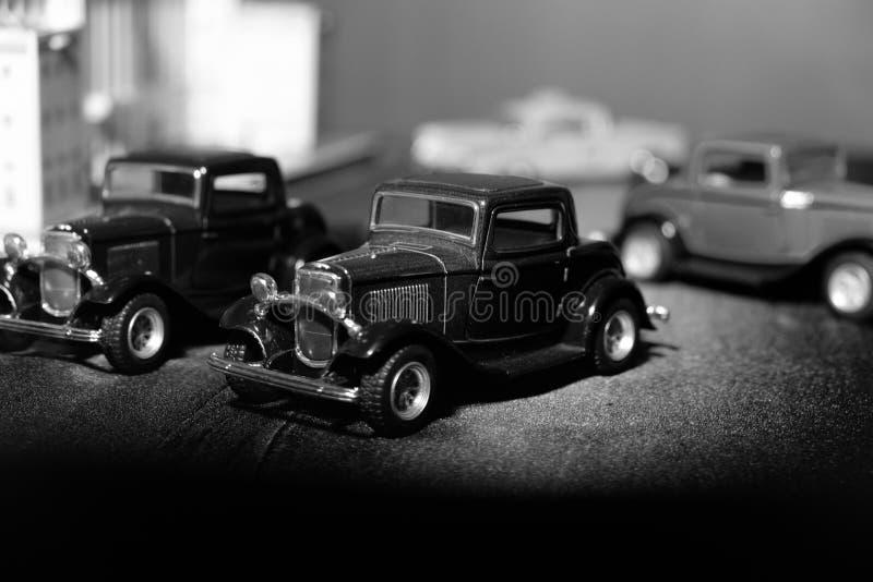 Modelo clásico del coche foto de archivo