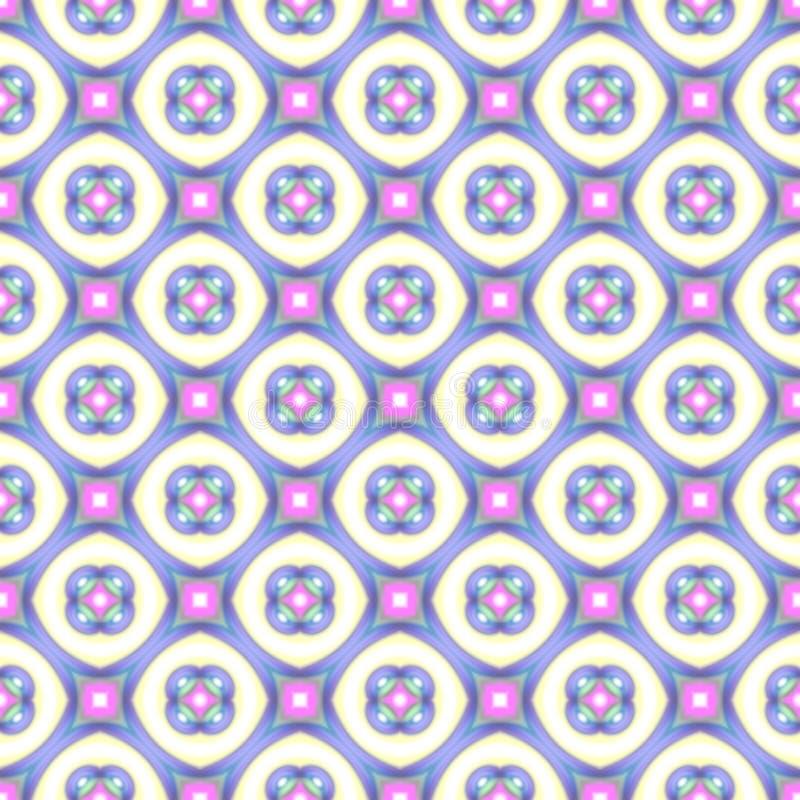 Modelo colorido abstracto de la burbuja Fondo de la textura Vector inconsútil libre illustration