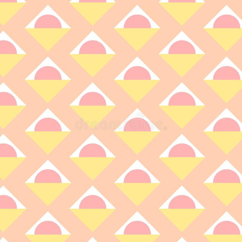 Modelo colorido abstracto Elementos geométricos de moda St del vector libre illustration