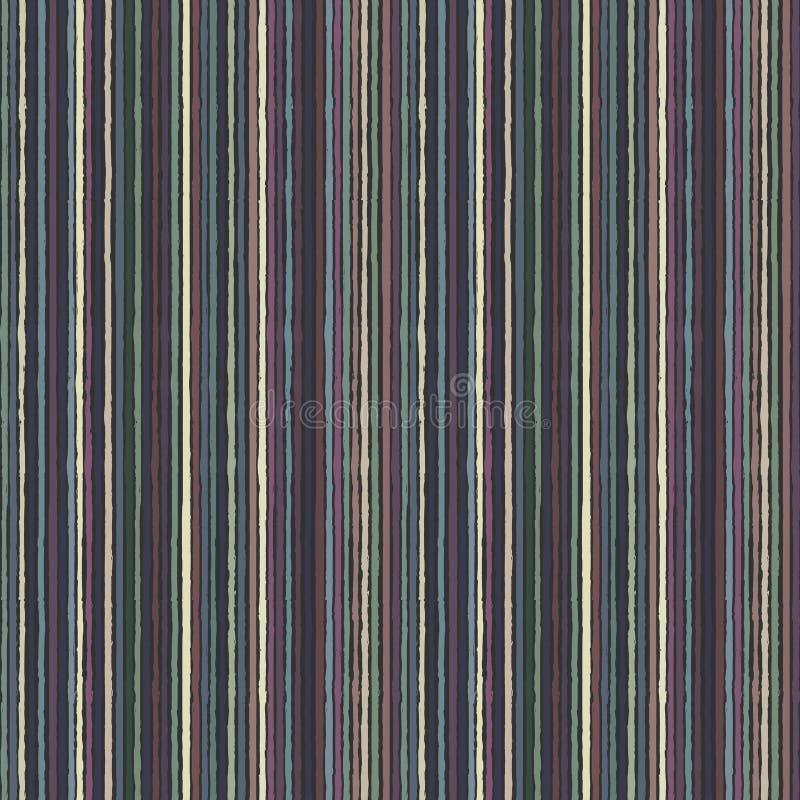 Modelo colorido del grunge inconsútil con las rayas multicoloras libre illustration