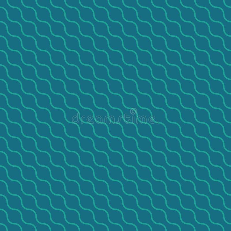 Modelo colorido inconsútil moderno de la geometría del vector stock de ilustración