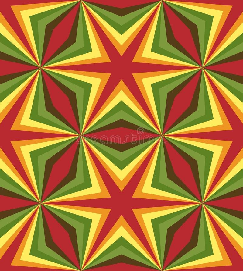 Modelo colorido poligonal inconsútil Fondo abstracto geométrico stock de ilustración
