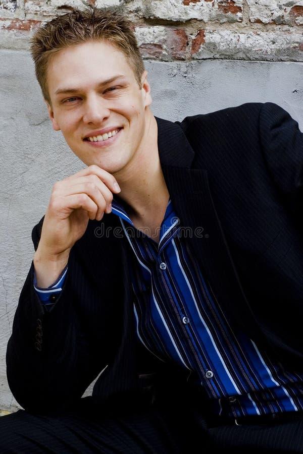 Modelo comercial masculino imagenes de archivo