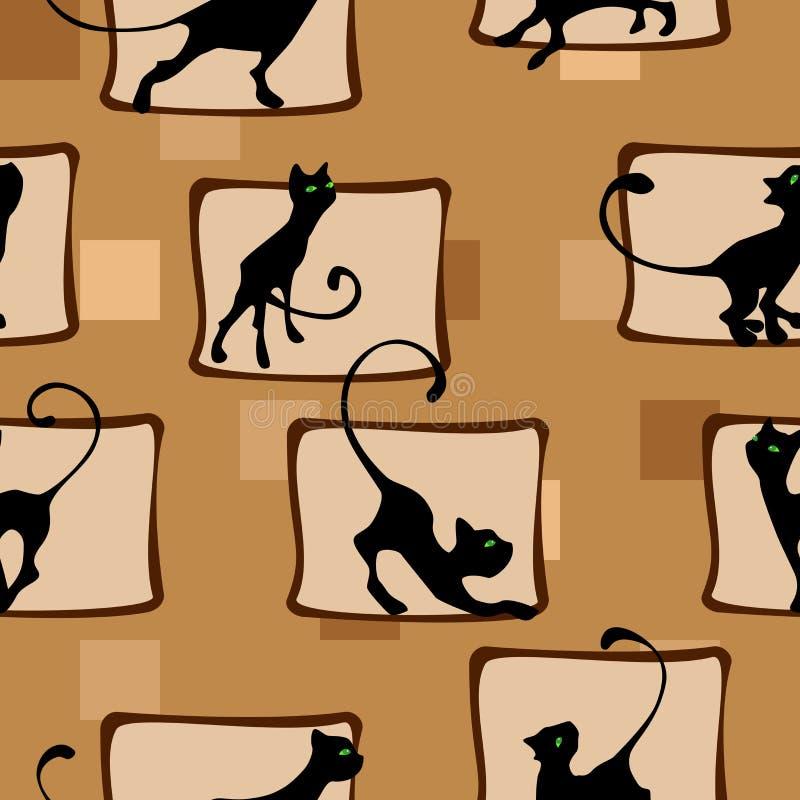 Modelo con el gatito imagen de archivo