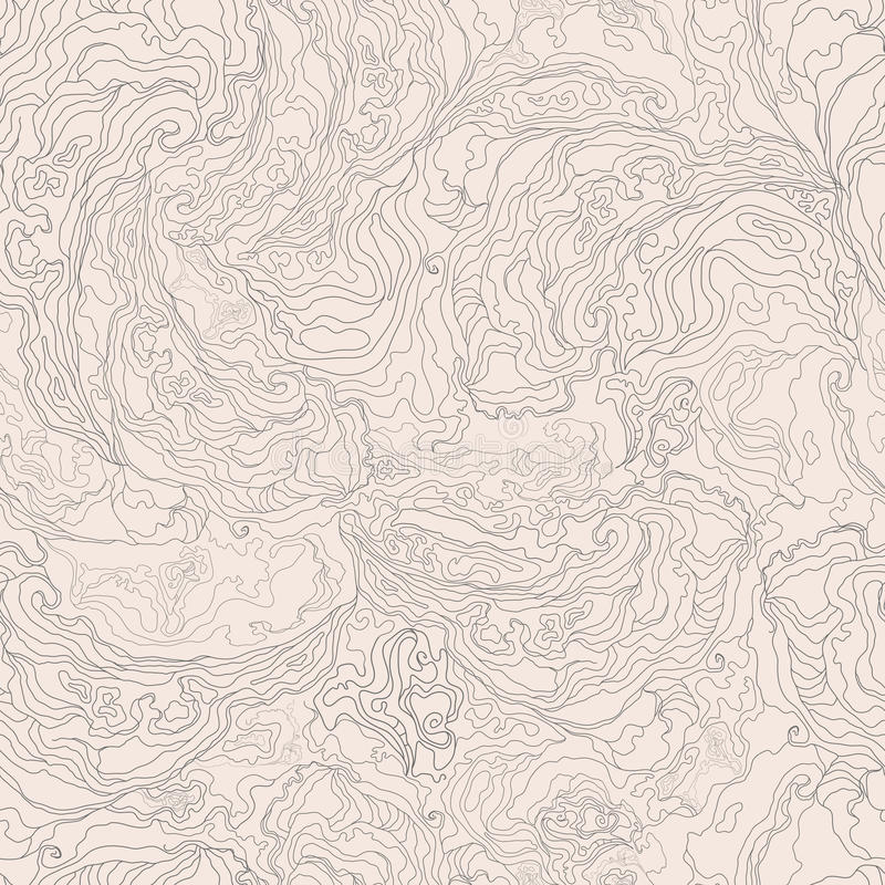 Modelo con la textura de la imagen del humo frontera gris en un fondo beige ligero ilustración del vector