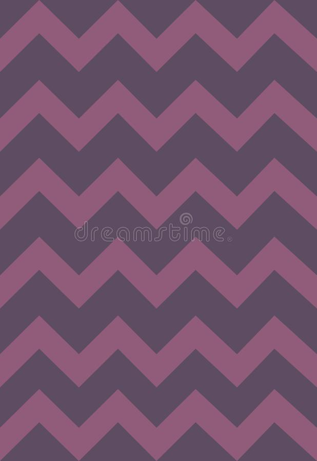 Modelo con las rayas coloreadas suaves, zigzag del vector Papel, textura, fondo ilustración del vector