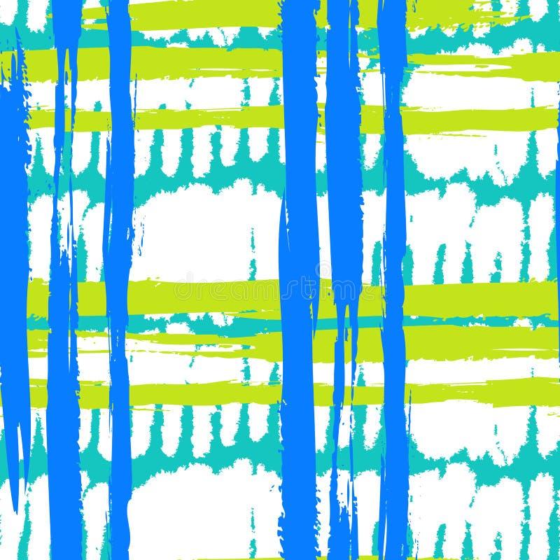 Modelo con pinceladas amplias y rayas ilustración del vector