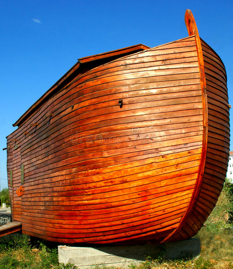 Modelo da arca de Noah fotografia de stock royalty free