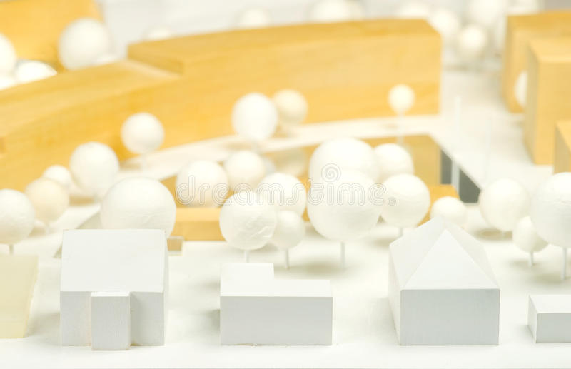 Modelo da arquitetura foto de stock royalty free
