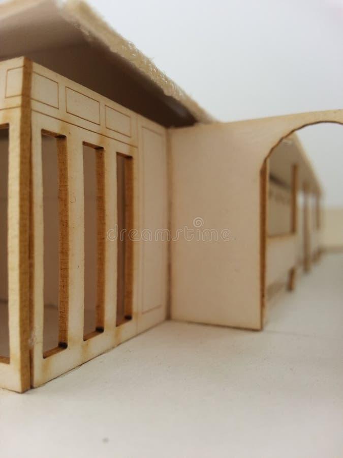 Modelo da arquitetura fotografia de stock