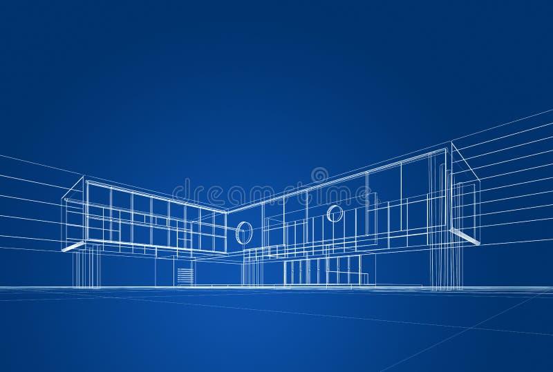 Download Modelo da arquitetura ilustração stock. Ilustração de renda - 29846606