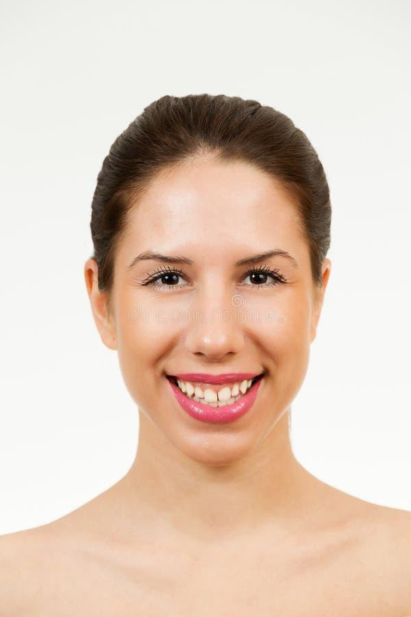 Modelo da fêmea de Skincare imagens de stock royalty free