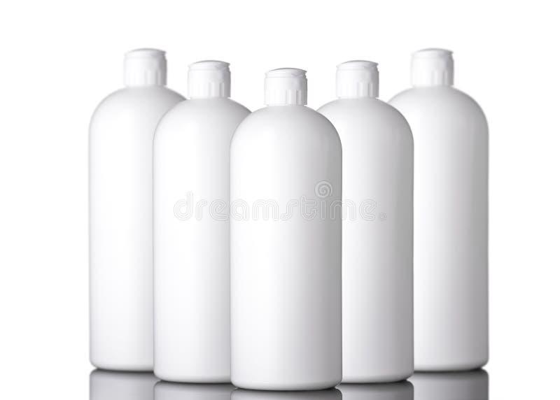 Modelo da garrafa do distribuidor do sabão Garrafa da assistência ao domicílio fotos de stock