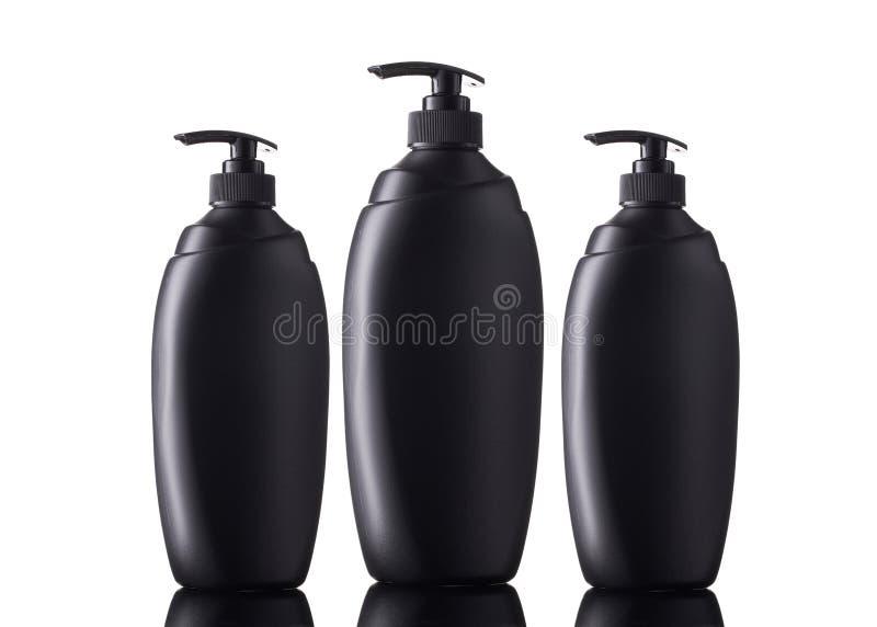 Modelo da garrafa do distribuidor do sabão Garrafa da assistência ao domicílio imagens de stock