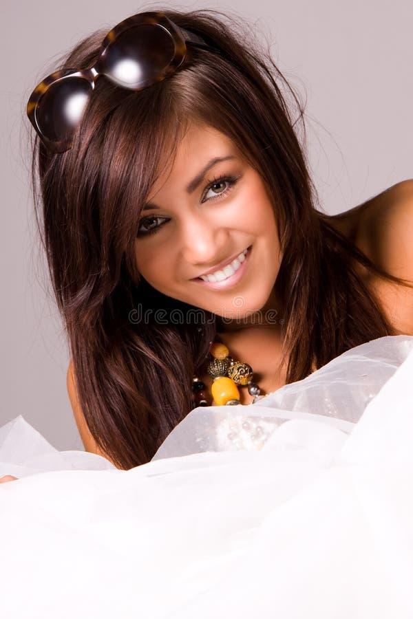 Modelo da mulher fotografia de stock royalty free