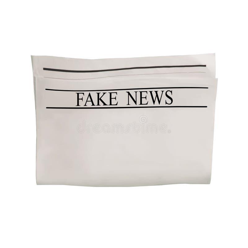 Modelo da placa falsificada do jornal da notícia com espaço textured para o texto, o título e as imagens fotografia de stock
