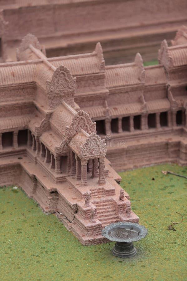 Modelo de Angkor Wat, Phnom Penh, Camboya fotografía de archivo