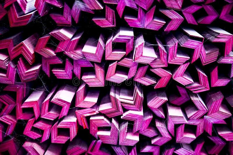 Modelo de barras de acero para el fondo imagen de archivo libre de regalías