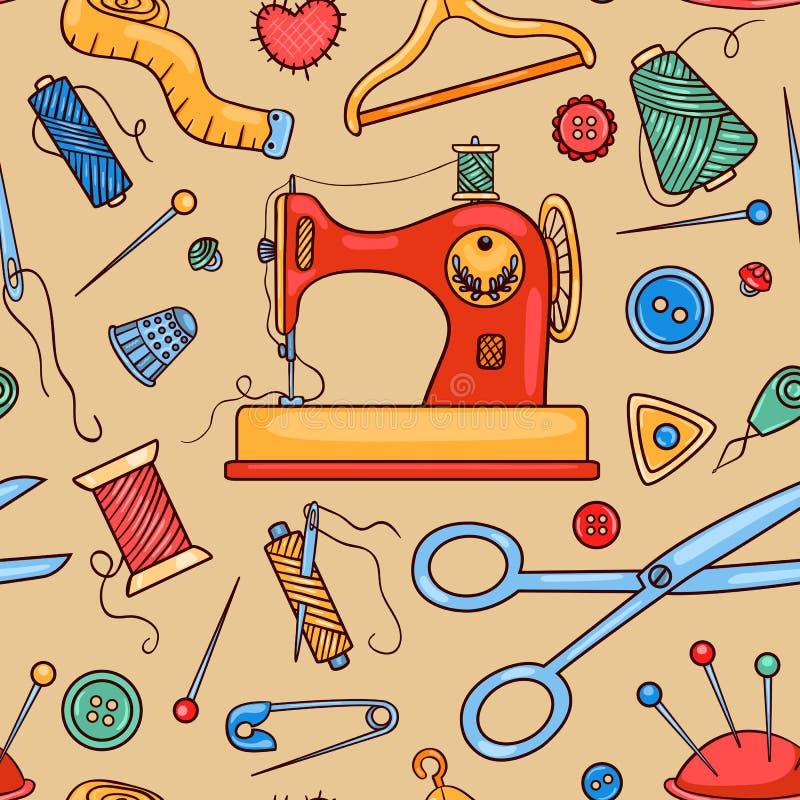 Modelo de costura inconsútil libre illustration