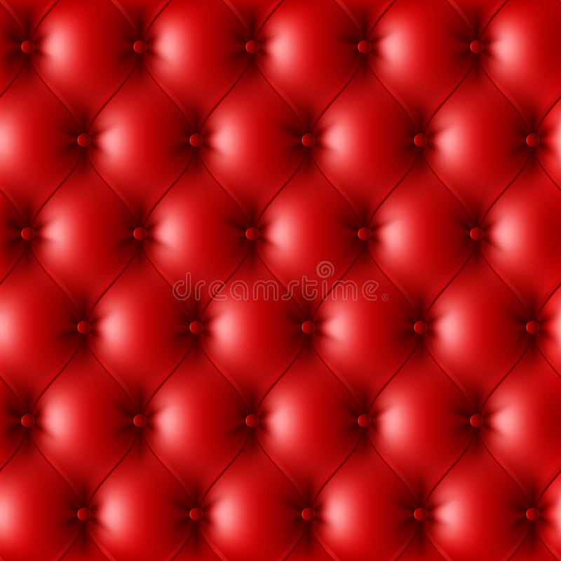 Modelo de cuero rojo de la tapicería libre illustration