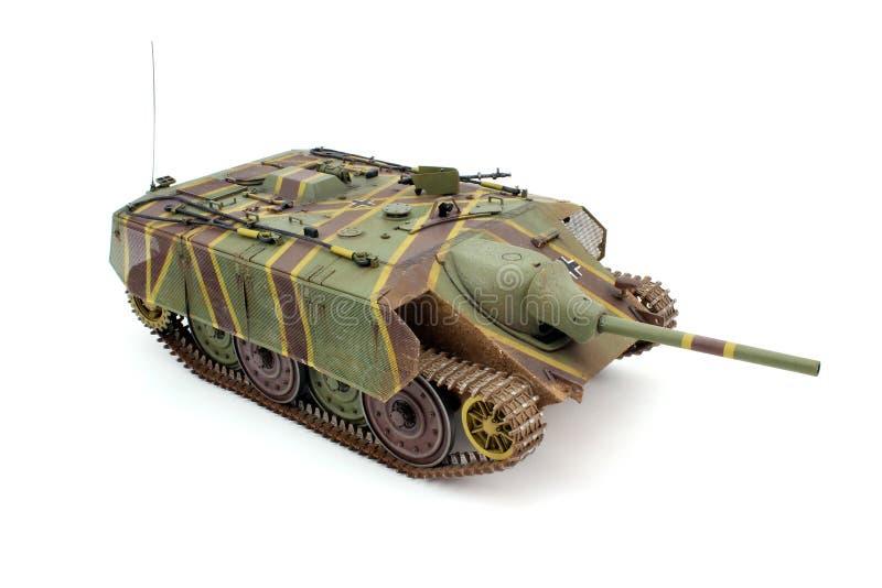 Modelo de escala de Jagdpanzer E-10 foto de archivo libre de regalías