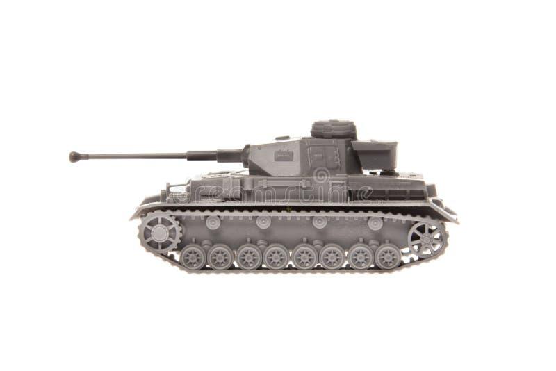 Modelo de escala de un tanque alemán fotos de archivo libres de regalías