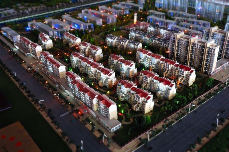 Modelo de escala del uptown imagen de archivo