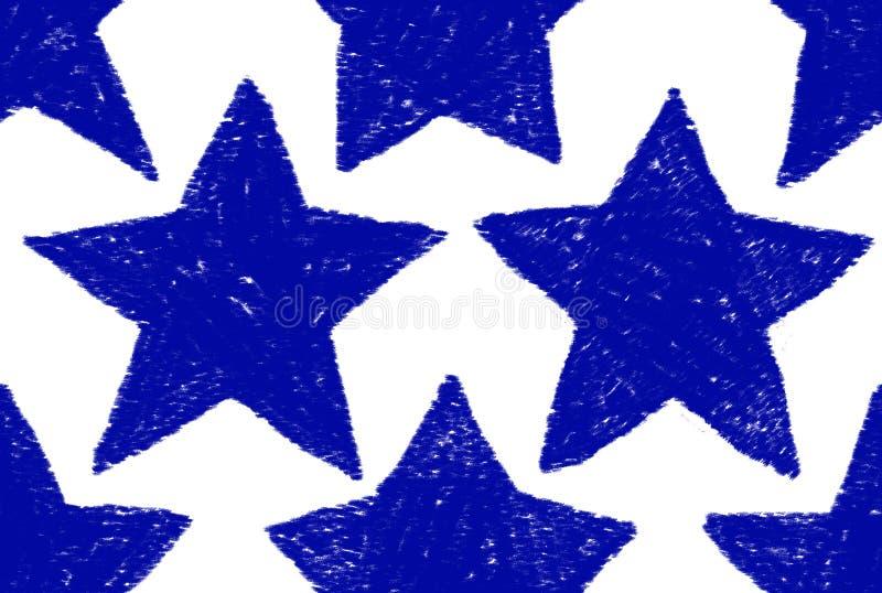 Modelo de estrella azul libre illustration