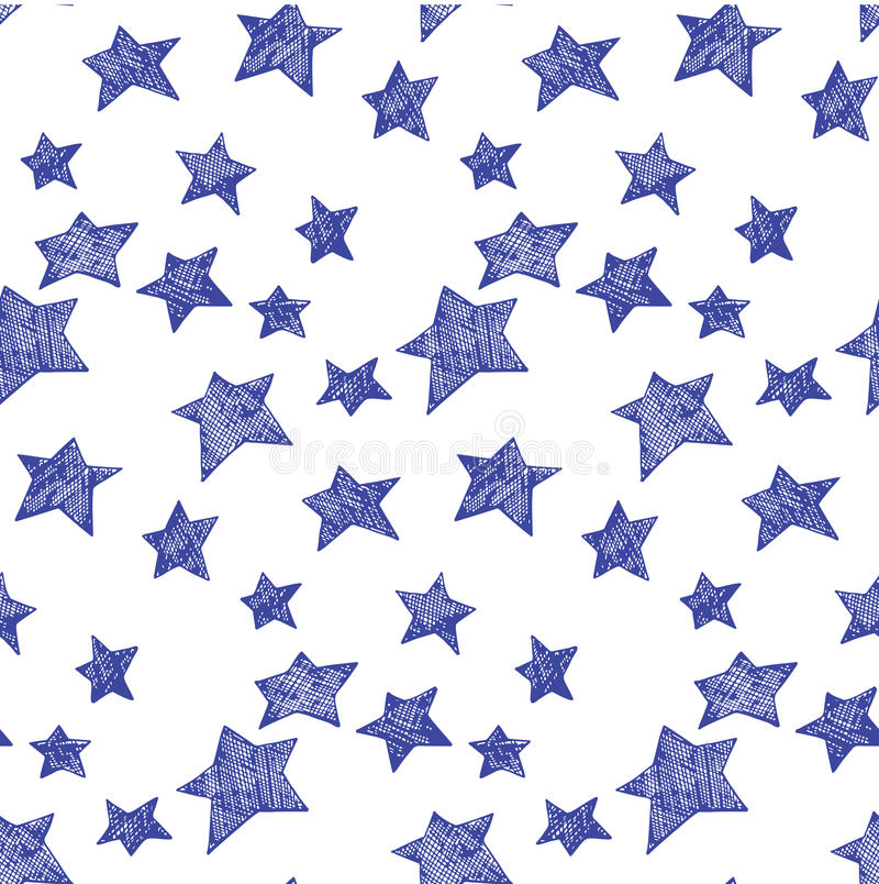 Modelo de estrellas libre illustration