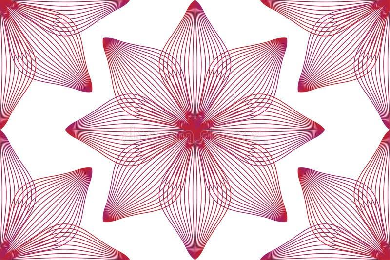 Modelo de flor inconsútil abstracto Fondo lindo de la fantasía, materia textil, papel pintado, envolviendo libre illustration