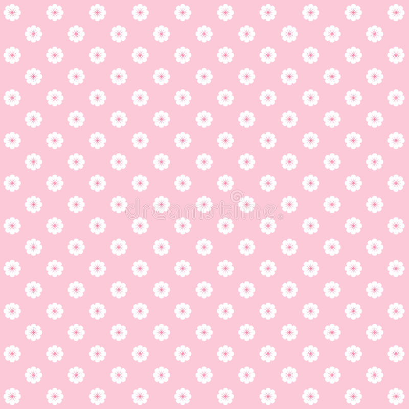 Modelo de flor rosado libre illustration