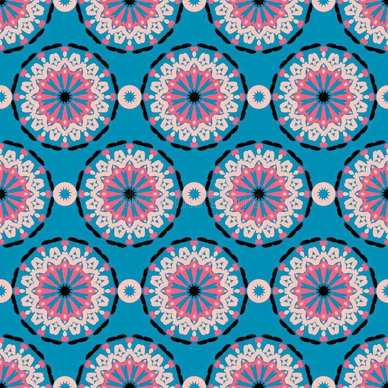 Modelo de flores abstracto grande libre illustration