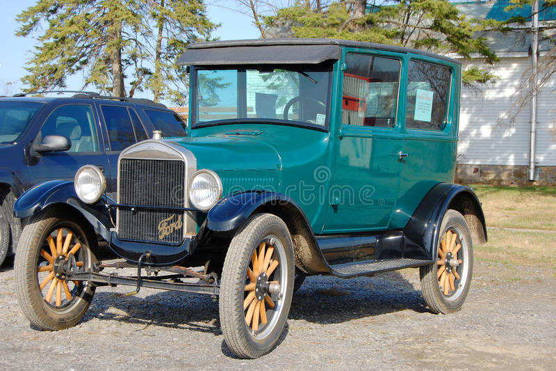 Modelo de Ford T en Car Show antiguo imagen de archivo libre de regalías