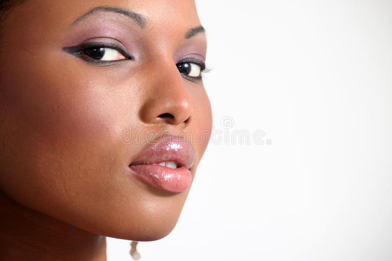 Modelo de forma bonito - mulher nova foto de stock royalty free