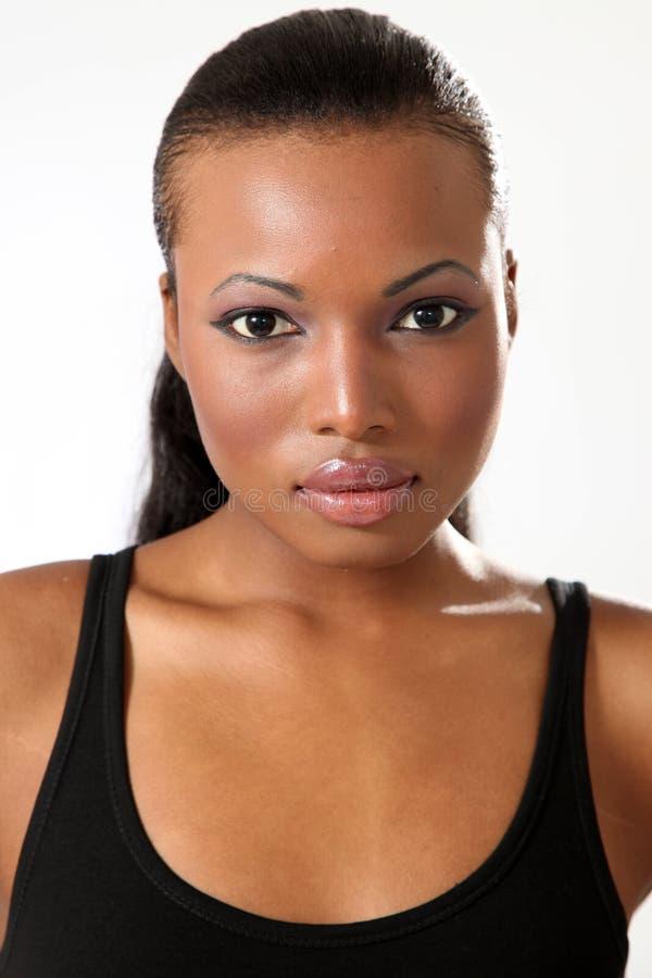 Modelo de forma bonito - mulher nova fotografia de stock