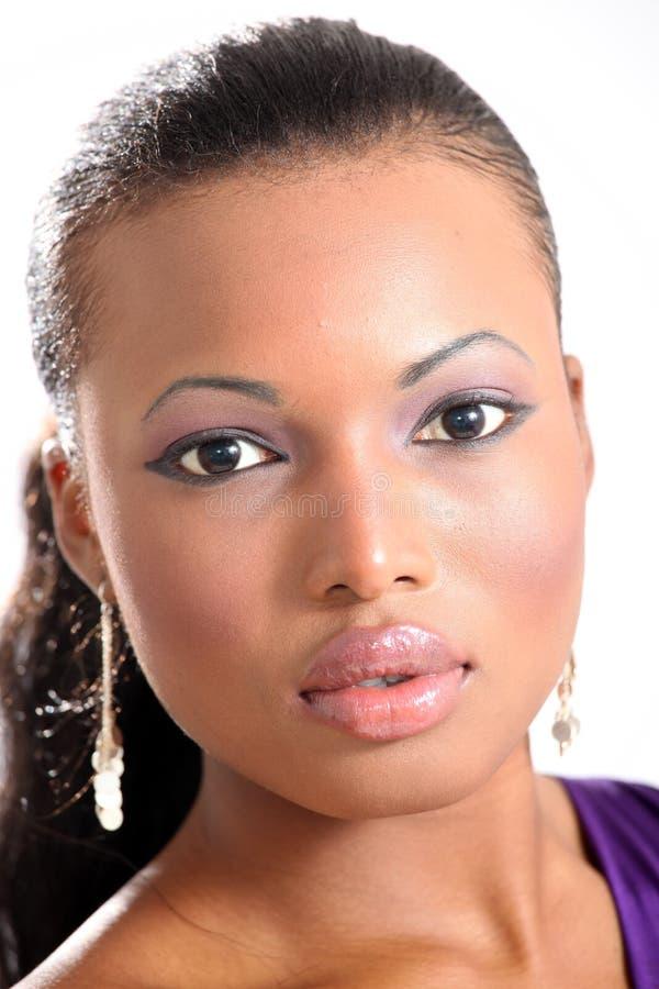 Modelo de forma bonito - mulher nova fotografia de stock royalty free