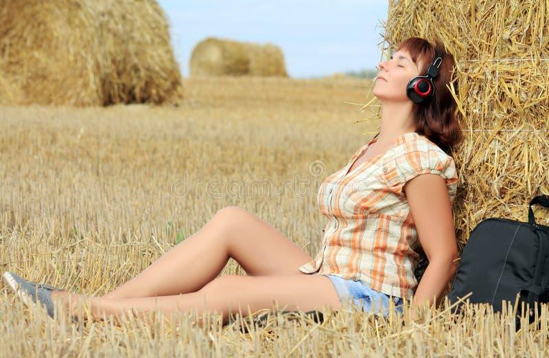 Modelo de forma - música imagem de stock