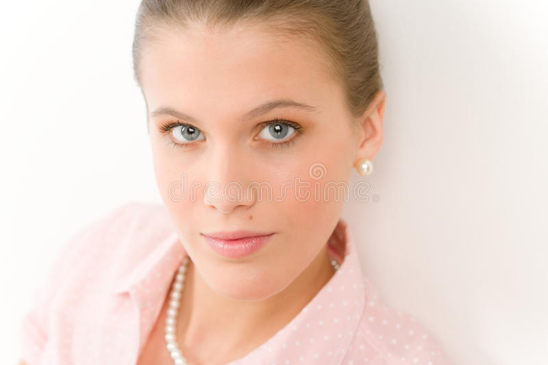 Modelo de forma - mulher romântica nova imagem de stock royalty free