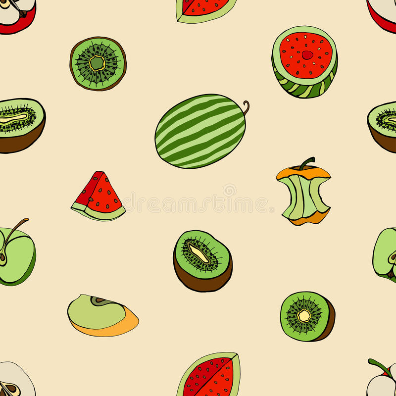 Modelo de frutas libre illustration