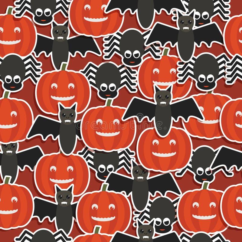 Modelo de Halloween ilustración del vector