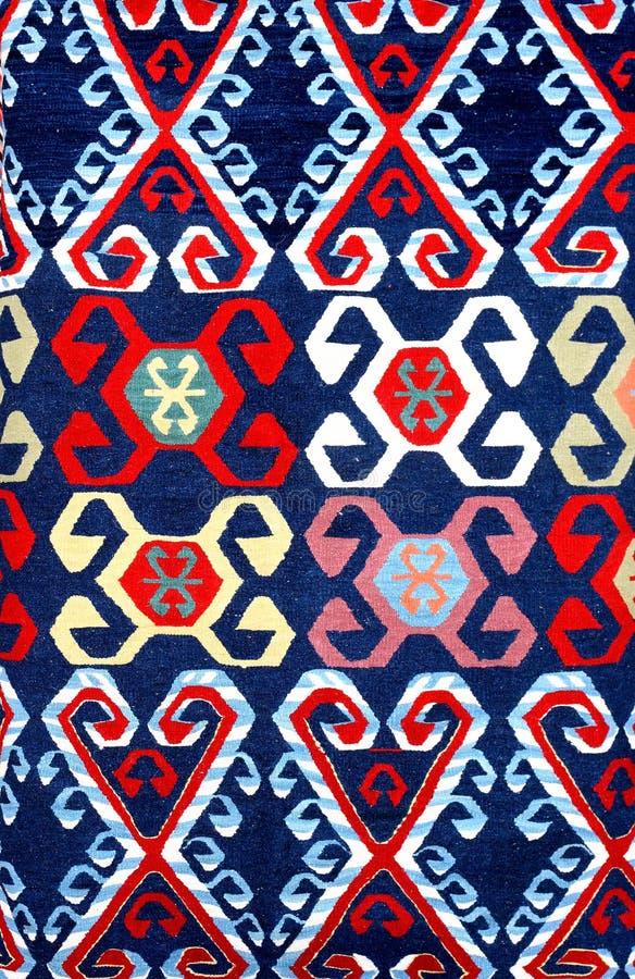 Modelo de la alfombra imagen de archivo